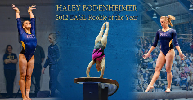 Haley Bodenhwemer 2012 EAGL Rookie of the Year